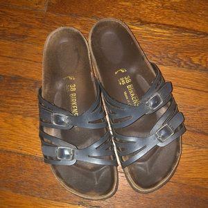 Birkenstock Granada sandals blue 38 L 7